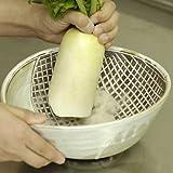 「日本のいいもの 信楽焼き良質な土の風合いを生かした職人手作り大きい深皿 和食煮物 おかず 人気和食器 野菜をおろせて皿になる(大 )」