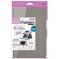 iPad mini 2019 用 回転式カバー グレー TBC-IPM1909GY
