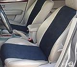 ネクシード(nexeed) 12V車専用 超薄型 ホットシート 脱着簡単 速暖30秒 最高65度 裏地滑り止め加工 付き (ブラック)