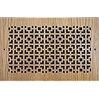 レーザーカット木製換気口カバーパターンA 16