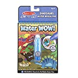 Melissa & Doug Water Wow! Dinosaurs Water-Reveal Pad – On the Go Travel Activity Book, Multicolor