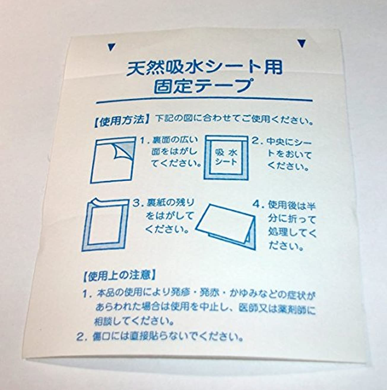テスト変動するバイソン日本製 20枚 足裏固定シート 樹液固定シート