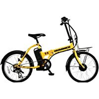 ネクストゲーション NX-HMF206DMYE イエロー [折りたたみ電動アシスト自転車(20インチ・外装6段式)]