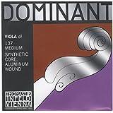 Dominant No.137 ビオラ弦 ペルロン/アルミ巻 D線