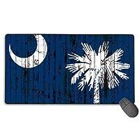 サウスカロライナ州の旗ゲーミングマウスパッドマウスパッドコンピュータマット