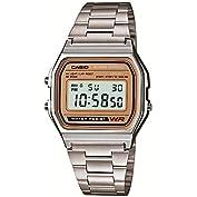 [カシオ]CASIO 腕時計 スタンダードデジタルウォッチ ゴールド文字板 海外モデル 国内メーカー...