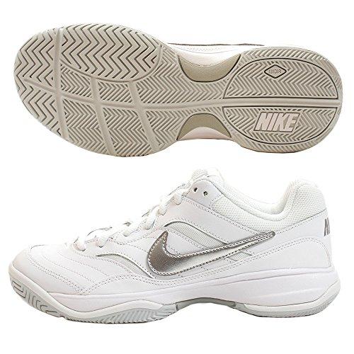 ナイキ Nike Court Lite - レディース テニス White/Medium Grey/Matte Silver US06.0 並行輸入品