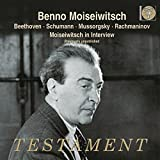 Beethoven: Piano Sonata No.21, Andante favori, Piano Concerto No.5 by Benno Moiseiwitsch (2015-08-03)