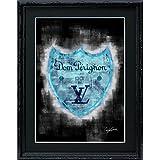 アートショップ フォームス ブランドオマージュアート/クレイグ・ガルシア「ルイ・ヴィトン/ドン・ペリニヨンc」A4ポスター