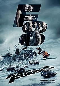 ワイルド・スピード アイス・ブレイク The Fate of the Furious ICE BREAK ファブリック ポスター 約60×90CM [並行輸入品]