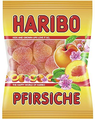 HARIBO ハリボー ピーチ 6袋セット(200g ×6)大粒、桃の香り、モッチリ感凄い【ドイツハリボー】【人気グミ】
