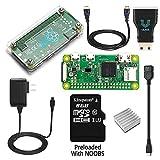 Raspberry Pi Zero W Complete Starter Kit--Includes Pi Zero W and 7 ラズベリーパイゼロワットスターターキット [並行輸入品]