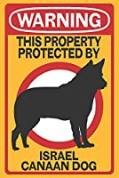 イスラエルCanaan Dog–警告 16 x 24 Signed Art Print LANT-85181-709