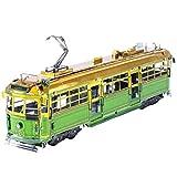 Fascinations メタルアース メルボルン Wクラス Tram 3D メタルモデルキット