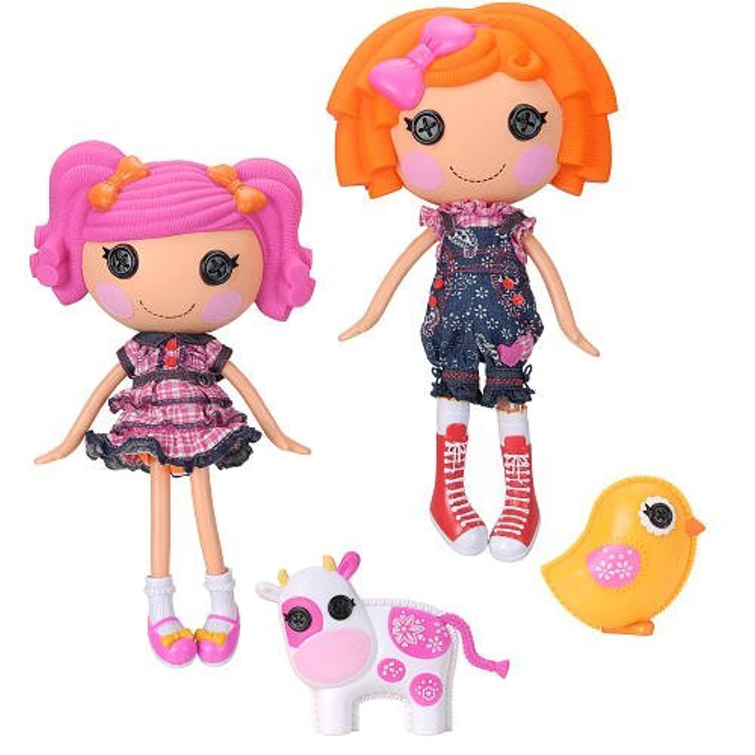 輸入ララループシー人形ドール Lalaloopsy Doll Figure Twins 2Pack Sunny Side Up Berry Jars n Jam [並行輸入品]