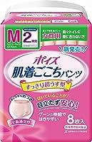 ムレにくい全面通気性 消臭ポリマーの効果 布感覚吸水ショーツ ポイズ肌着ごこち パンツ 女性用 2回吸収 M-8枚 24入(3合)