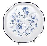 【中古】ウェッジウッド ブループラム 8角皿 オクタゴナルプレート 17.8cm