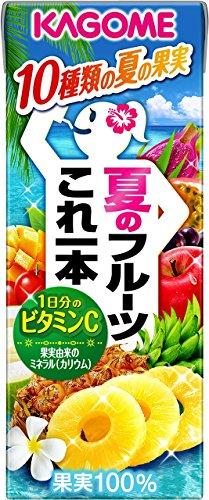 カゴメ 夏のフルーツこれ一本 200ml×24本