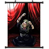 Le Portrait de小柄Cossetteアニメファブリック壁スクロールポスター( 32x 45)インチ。[ WP ] -le P - 2( L )