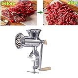 卓仕朗 ミンサー 手動式 豆挽き器 ひき肉器 卓上 肉挽き機 肉挽き器 みじん切り器 キッチン ツール