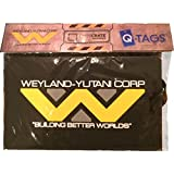 [QMX]QMX SDCC 2015 Cosmic LootCrate WeylandYutani Corp. Building better worlds Alien vs. Predator Luggage Tag [並行輸入品]