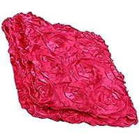 Prettyia 赤ちゃん ローズ赤い  写真背景  布  毛布  子供  写真プロップ   やわらかい