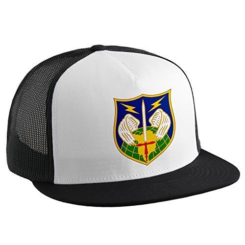 Trucker Hat with North American Aerospace Defense Command (NORAD) insg by ExpressItBest [並行輸入品]