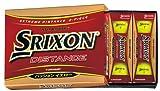 DUNLOP(ダンロップ) SRIXON スリクソン ディスタンス ボール パッションイエロー12P