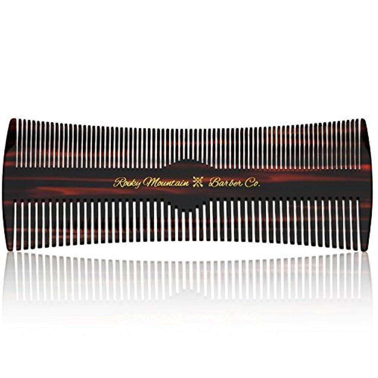 ペルセウス巻き取りあいさつHair Comb - Fine and Medium Tooth Comb for Head Hair, Beard, Mustache - Warp Resistant, No Snag Design with Contour...