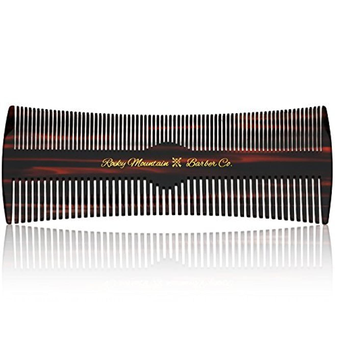 モネスピーカーHair Comb - Fine and Medium Tooth Comb for Head Hair, Beard, Mustache - Warp Resistant, No Snag Design with Contour...