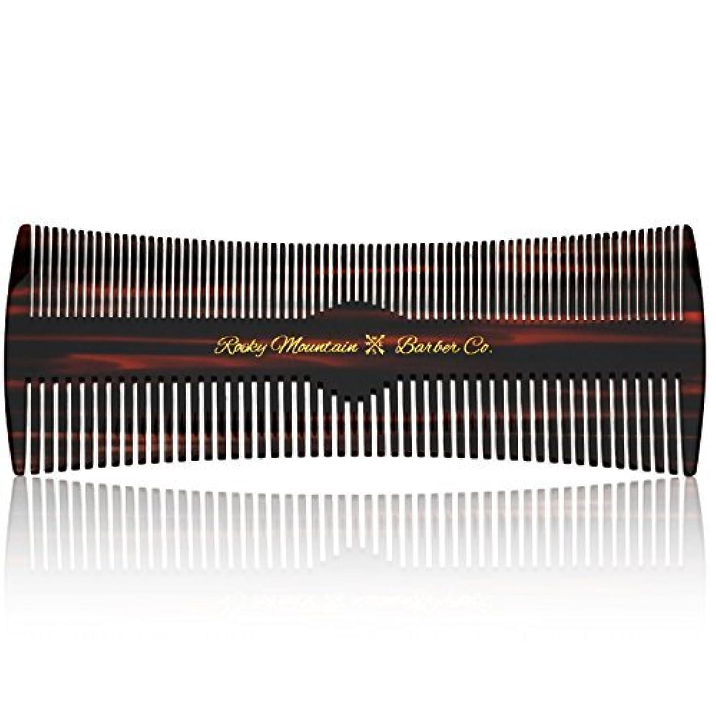 称賛消費者十Hair Comb - Fine and Medium Tooth Comb for Head Hair, Beard, Mustache - Warp Resistant, No Snag Design with Contour...