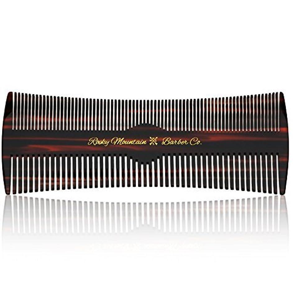 病んでいる距離マイクロHair Comb - Fine and Medium Tooth Comb for Head Hair, Beard, Mustache - Warp Resistant, No Snag Design with Contour...