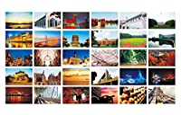 30 PCS美しい中国旅行の風景芸術的なレトロフォトポストカード - S8