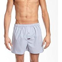 Mitch Dowd Men's Underwear Mini Pin Stripe Yarn Dyed Superior Comfor Cotton Boxer