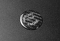 BMW エンジンスタートボタン カーボンカバーF20 F21 F22 F23 F30 F31 F32 F33 F10 F11 F12 F13 F01 F02 X1 F48 X3 F25 X4 F26 F15 F16 G30 G38 G11 G12 (黒)