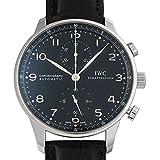 [IWC]IWC 腕時計 ポルトギーゼ クロノグラフ ブラック IW371447 メンズ [並行輸入品]