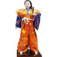和風の伝統的な戦士忍者人形/ギフト/ジュエリー-A6