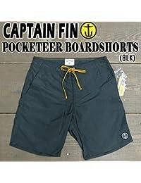 CAPTAIN FIN/キャプテンフィン POCKETEER BOARDSHORTS BLK 男性用 サーフパンツ ボードショーツ [並行輸入品]
