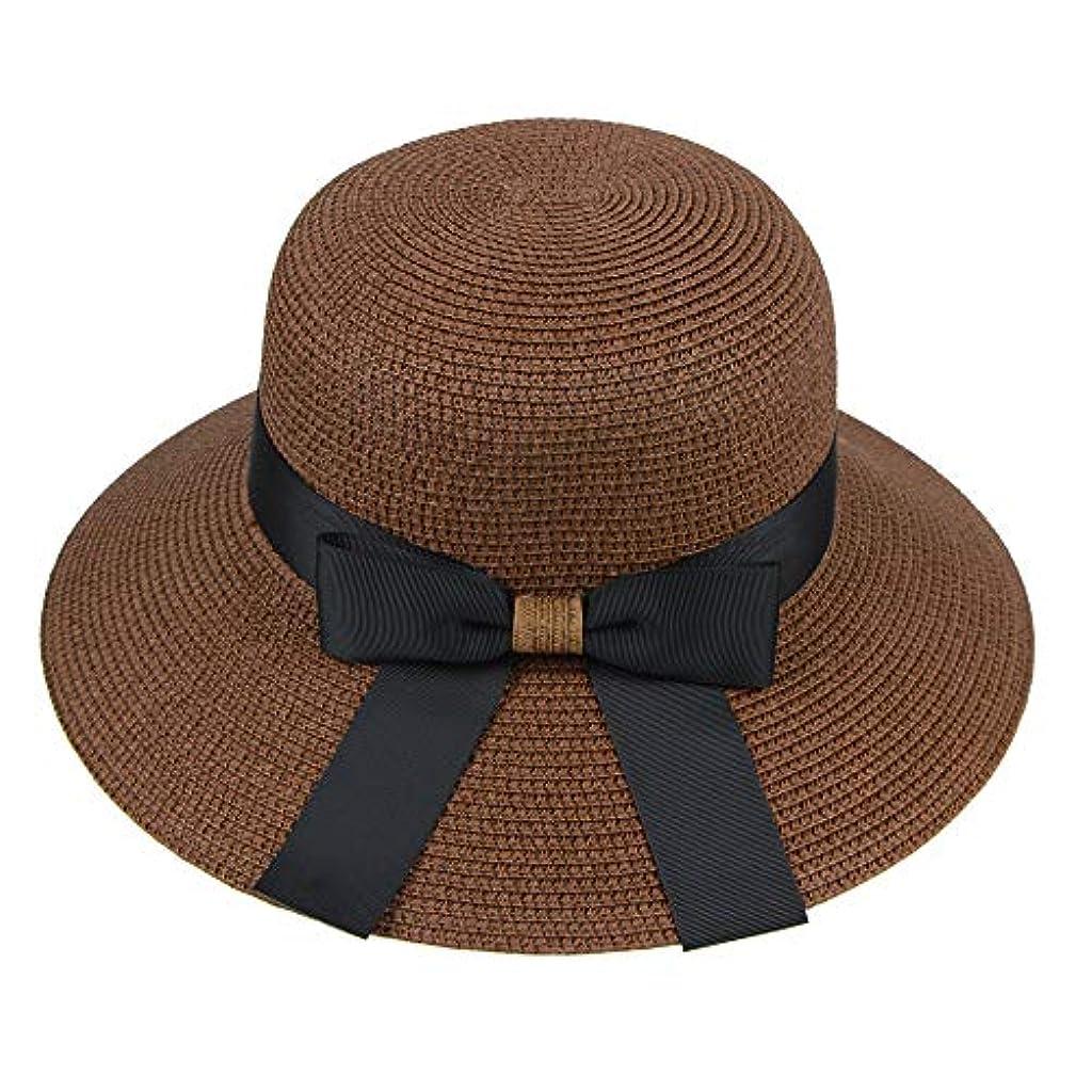退院心理的鉄道駅漁師帽 帽子 レディース UVカット 帽子 夏季 海 旅行 UV帽子 日焼け防止 つば広 取り外すあご紐 おしゃれ 可愛い ワイルド カジュアル スタイル ファッション シンプル 夏 ビーチ 必須 小顔効果 ROSE ROMAN