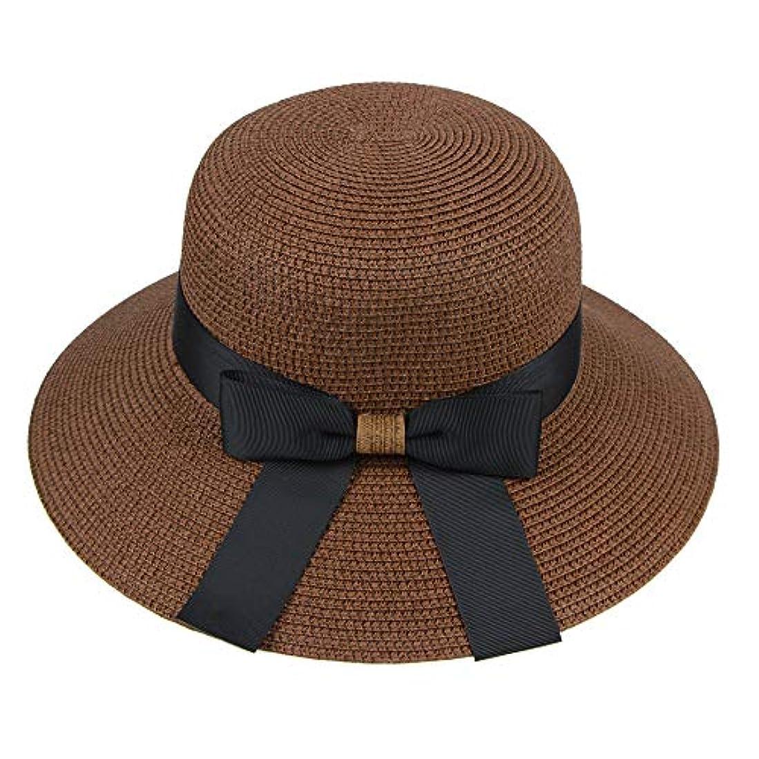 どちらもできたジョージハンブリー漁師帽 帽子 レディース UVカット 帽子 夏季 海 旅行 UV帽子 日焼け防止 つば広 取り外すあご紐 おしゃれ 可愛い ワイルド カジュアル スタイル ファッション シンプル 夏 ビーチ 必須 小顔効果 ROSE ROMAN