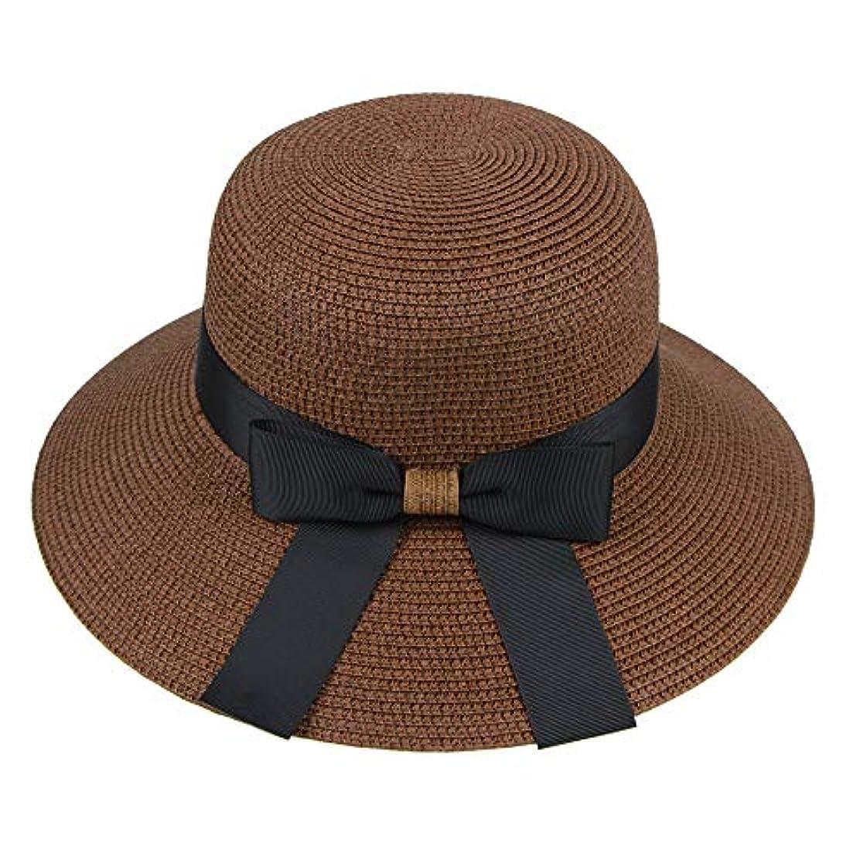 背景薬用城漁師帽 帽子 レディース UVカット 帽子 夏季 海 旅行 UV帽子 日焼け防止 つば広 取り外すあご紐 おしゃれ 可愛い ワイルド カジュアル スタイル ファッション シンプル 夏 ビーチ 必須 小顔効果 ROSE ROMAN
