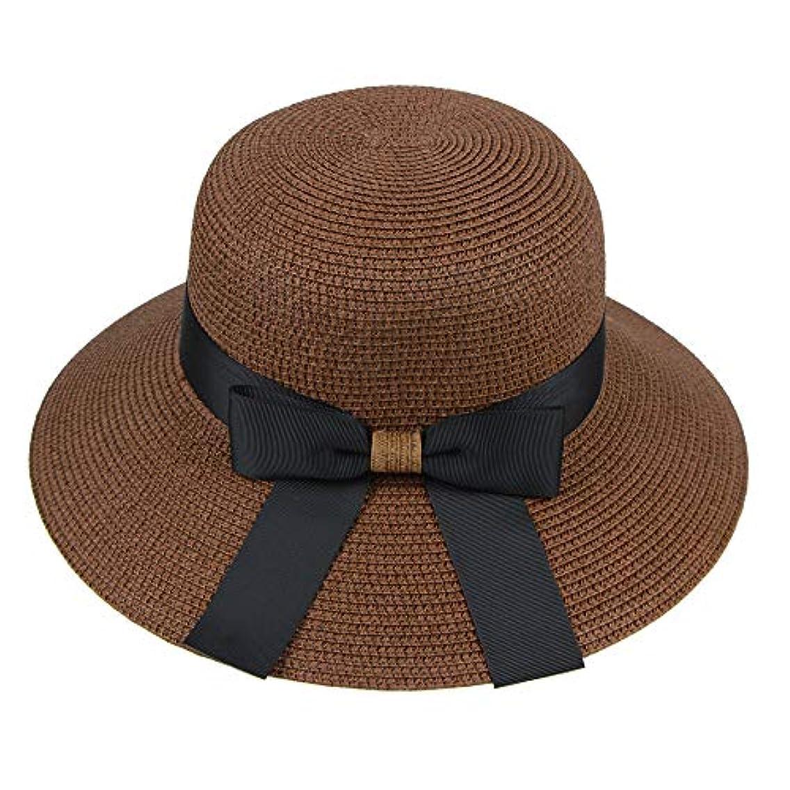 左アーサーコナンドイル才能漁師帽 帽子 レディース UVカット 帽子 夏季 海 旅行 UV帽子 日焼け防止 つば広 取り外すあご紐 おしゃれ 可愛い ワイルド カジュアル スタイル ファッション シンプル 夏 ビーチ 必須 小顔効果 ROSE ROMAN