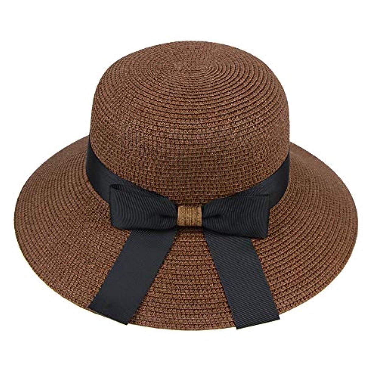 くつろぎハード熱心漁師帽 帽子 レディース UVカット 帽子 夏季 海 旅行 UV帽子 日焼け防止 つば広 取り外すあご紐 おしゃれ 可愛い ワイルド カジュアル スタイル ファッション シンプル 夏 ビーチ 必須 小顔効果 ROSE ROMAN
