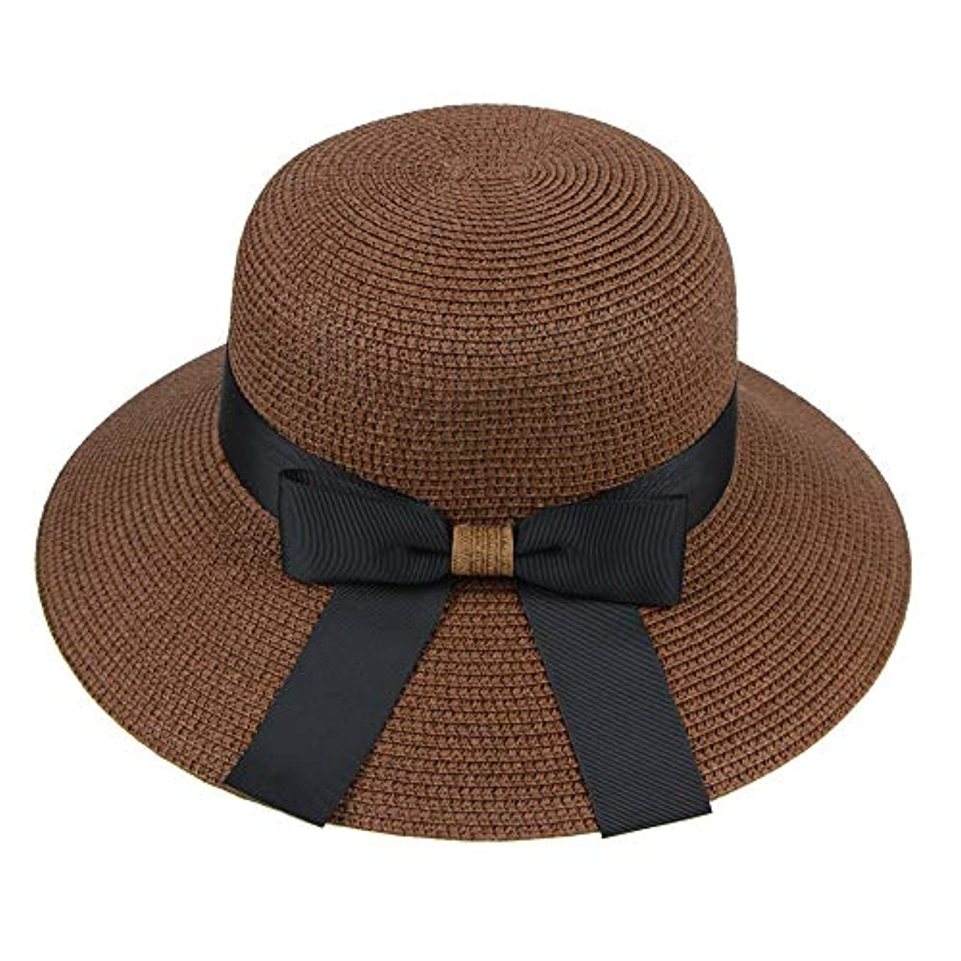 リーフレット命令苦しむ漁師帽 帽子 レディース UVカット 帽子 夏季 海 旅行 UV帽子 日焼け防止 つば広 取り外すあご紐 おしゃれ 可愛い ワイルド カジュアル スタイル ファッション シンプル 夏 ビーチ 必須 小顔効果 ROSE ROMAN