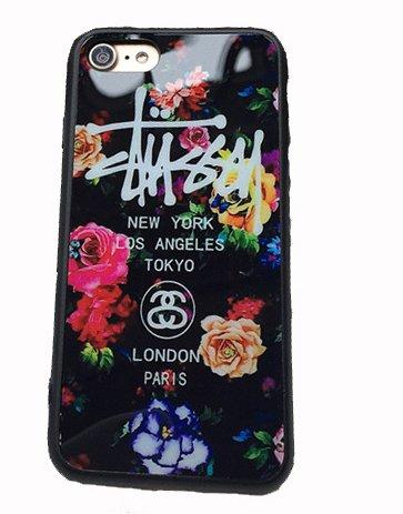 【STUSSY ステューシー】iPhone7用ケース アイフォン7 iPhone7 カバー ロゴデザ...