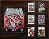 NFL San Francisco 49ers 16 x 20インチall-time GreatフォトPlaque