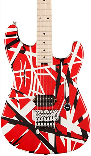 EVH / STRIPED SERIES Red with Black Stripes イーブイエイチ