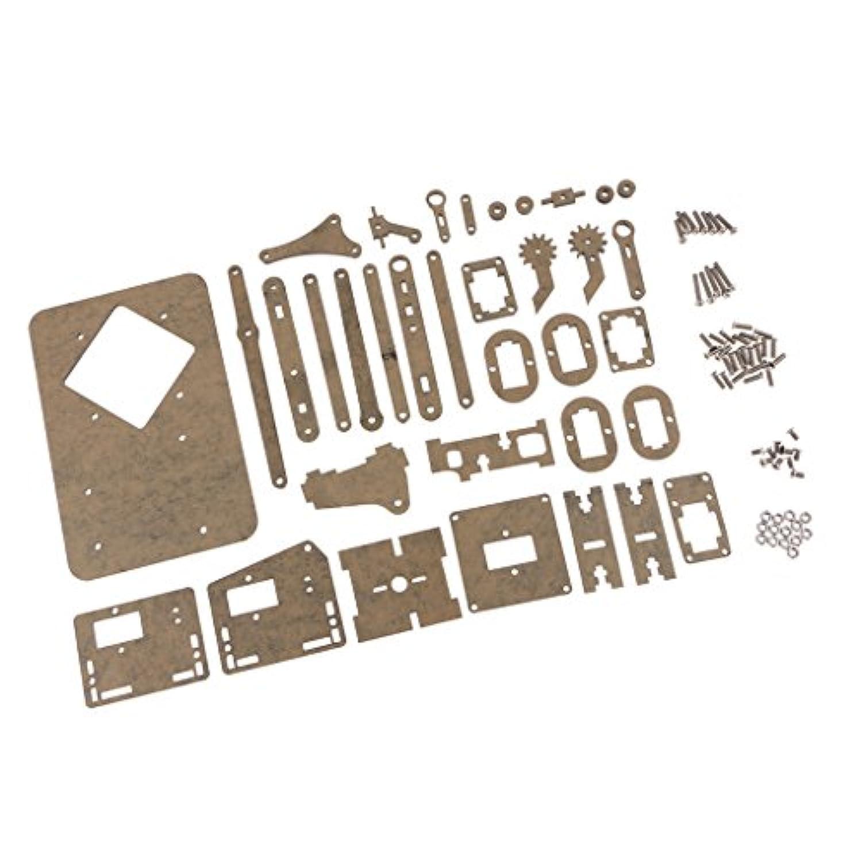 Baoblaze ロボットアーム DIYキット 組立簡単 機械式 クランプ 爪 ネジ付 Arduino対応 電子部品