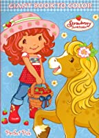 Strawberry Shortcake Big Fun Book to Colour - Life Delicious