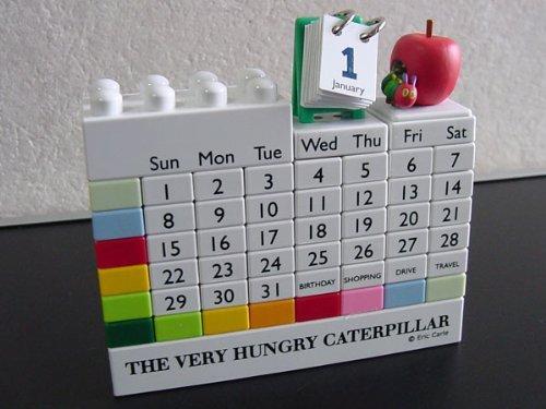 エリック・カール はらぺこあおむし ブロックカレンダー...